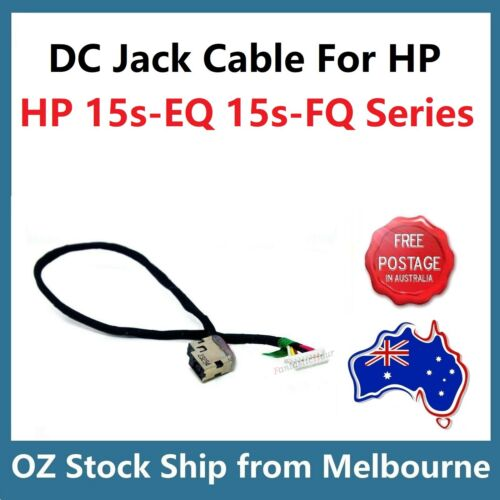 DC Jack Input Socket Chariging Power Cable For HP 15s-FQ 15s-EQ Series