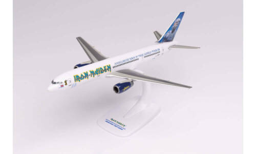 """Boeing 757 -200 Iron Maiden (Astraeus) """"Ed Force One"""" - Somewhere Back in Time"""