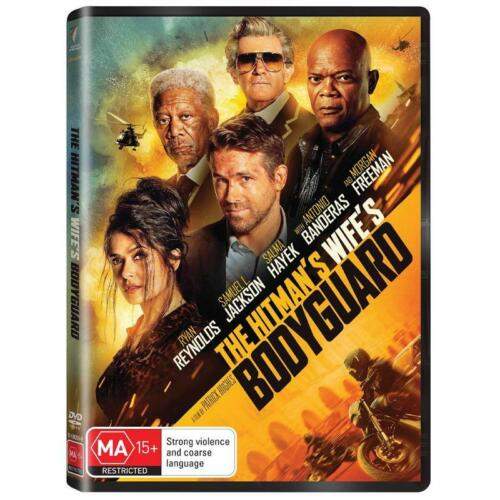 THE HITMANS WIFES BODYGUARD DVD, NEW & SEALED, 250821, FREE POST