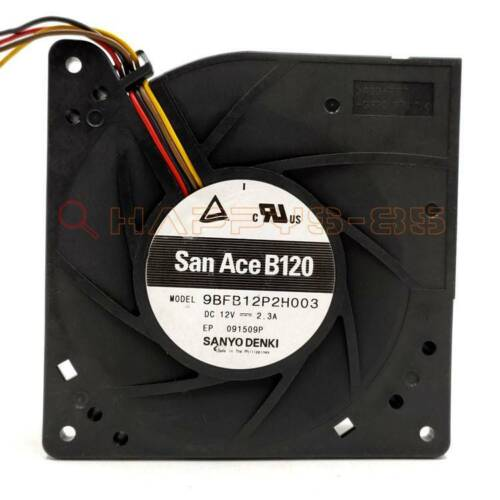 SANYO 9BFB12P2H003 12V 2.3A 12032 12CM turbo blower cooling fan New