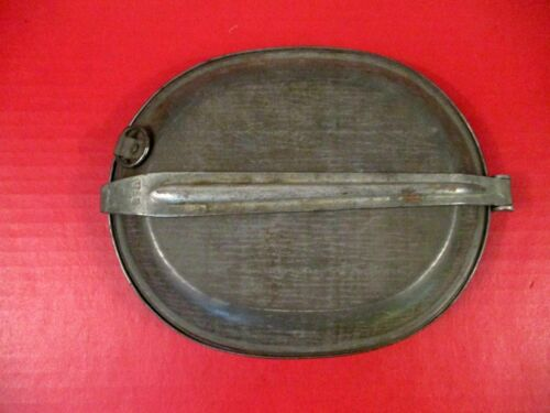 Indian War US Army Model 1874 Meat Can or Mess Kit - 3rd Pat - US Marked - XLNTOriginal Period Items - 7271