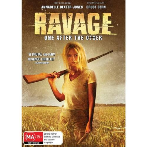 RAVAGE DVD, NEW & SEALED ** NEW RELEASE ** 110821, FREE POST