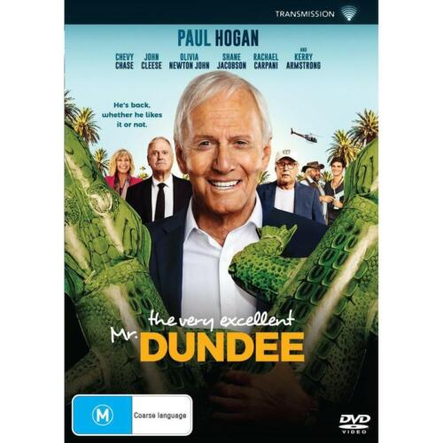 THE VERY EXCELLENT MR DUNDEE DVD, NEW & SEALED * NEW RELEASE * 110821, FREE POST