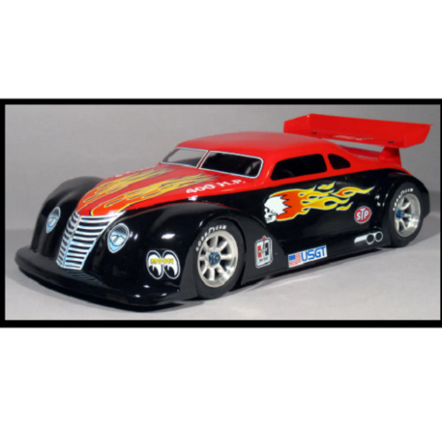 1:10 RC Clear Lexan Body Shell HOT ROD GT for 1:10 RC on road cars