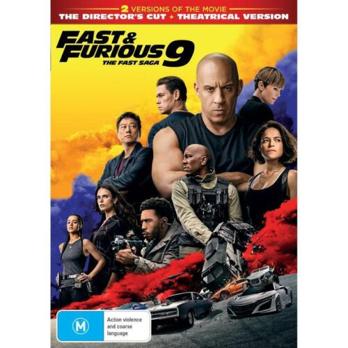 FAST & FURIOUS 9 DVD, NEW & SEALED * NEW RELEASE * 010921, FREE POST, IN STOCK