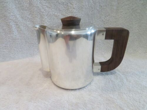 Rare 1930 French silver-plated Christofle heavy coffee pot Luc Lanel
