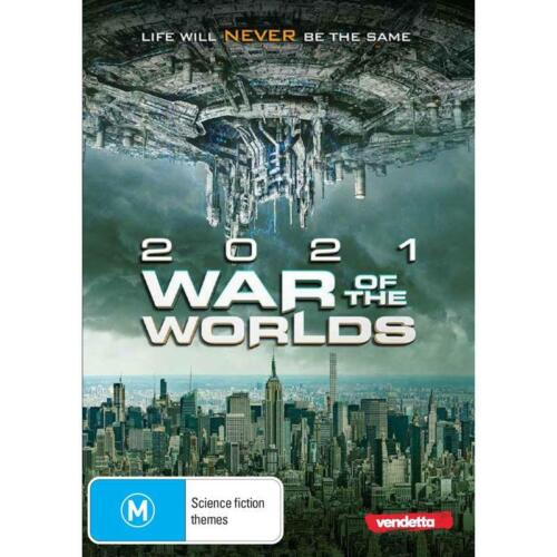 2021 WAR OF THE WORLDS DVD, NEW & SEALED ** NEW RELEASE ** 080921, FREE POST,