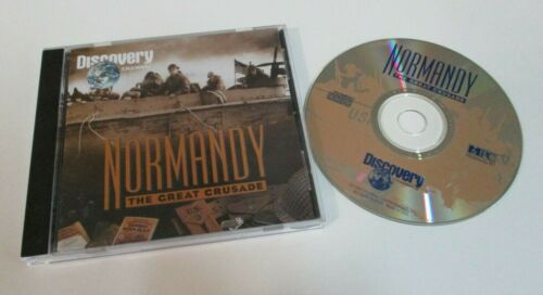 Normandy: The Great Crusade - Documentary - Discovery Channel - CD-ROM - 1994