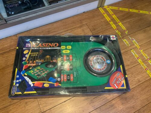 BRAIN POWER 7 IN 1 CASINO GAME SET IN BOX - NEW : NEVER USED !