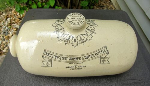 Doulton's Foot Warmer & Water Bottle Sharp & Smith Chicago - Medical Supplies