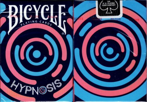 Hypnosis v2 Bicycle Playing Cards Poker Size Deck USPCC Custom Limited Sealed