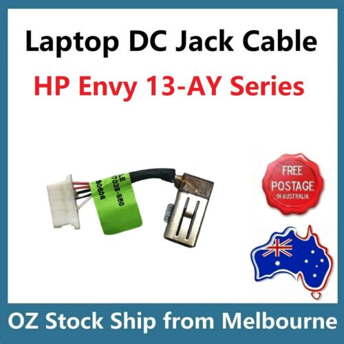DC Jack  Power Input Socket Cable For HP Envy 13-AY Series