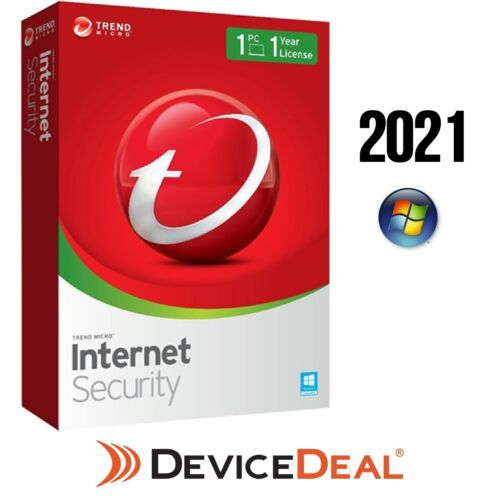 Trend Micro Internet Security 2021 - 1 Devices 1 year for Windows