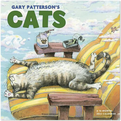 Gary Patterson - Chats - 2022 Calendrier Mural - Tout Neuf - Humour DDD550