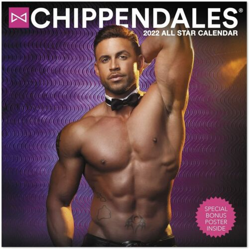 Chippendales - 2022 Calendrier Mural - Tout Neuf - DDD958