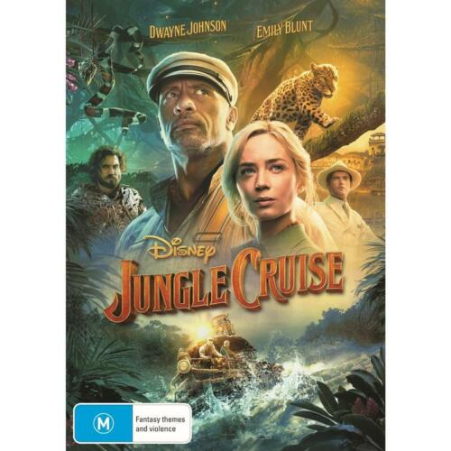 JUNGLE CRUISE DVD, NEW & SEALED ** NEW RELEASE ** 061021, FREE POST, IN STOCK