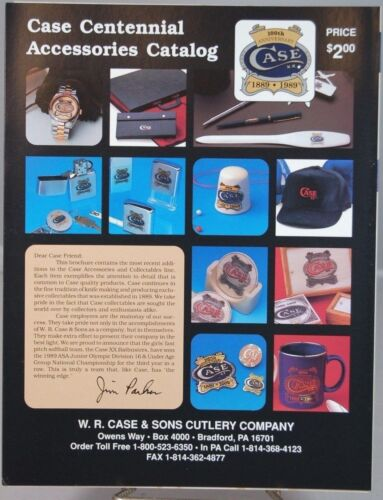 WR Case & Sons Cutlery Co.100th Anniversary Accessories -(1889-1989)-Mint