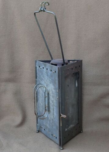 Lampe de poilu pliable militaria WW1 military french trench lamp
