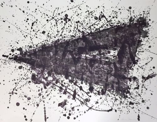Sam Francis - Original Limited Edition Two Color Lithograph Print, 1976 (SF-225)