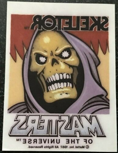 Masters Of The Universe SKELETOR 1987 ORIGINAL Transfer Mint Condition