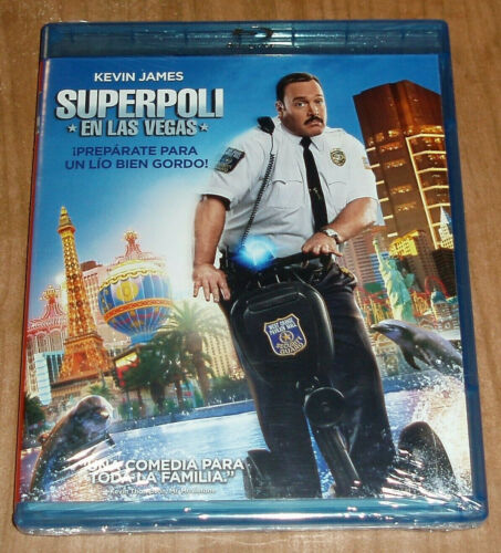 Superpoli IN Las Vegas Blu-Ray New Sealed Action Comedy (Sleeveless Open)