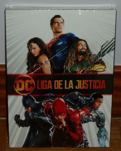 League Of Justice League DVD Slipcover Sealed New Action (Sleeveless Open) R2