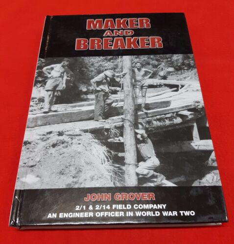 WW2 UNIT HISTORY 2 1 & 2 14 FIELD COMPANY MAKER AND BREAKER  BOOK BY J GROVER