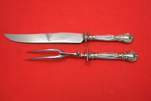 Chantilly by Gorham Sterling Silver Roast Carving Set 2pc