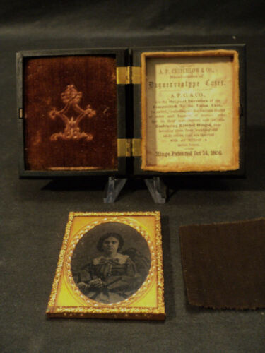 ANTIQUE DAGUERREOTYPE / AMBROTYPE IN GREAT UNION CASE