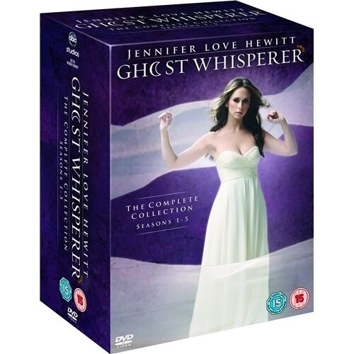 """GHOST WHISPERER COMPLETE SERIES COLLECTION 1-5 DVD BOX SET 34 DISC R4 """"SEALED"""""""