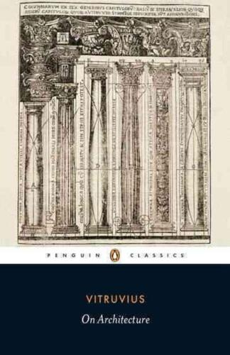 On Architecture by Vitruvius (English) Paperback Book Free Shipping!