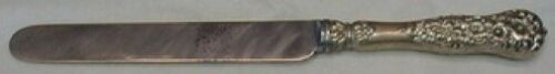 """Rococo by Dominick & Haff Sterling Silver Dinner Knife Blunt 9 7/8"""""""