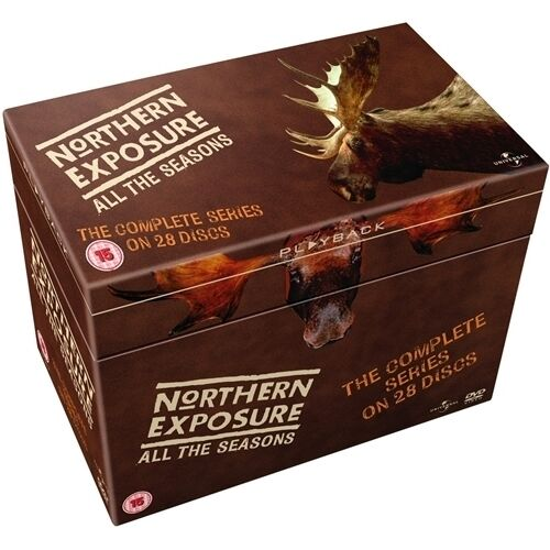 """NORTHERN EXPOSURE COMPLETE SERIES COLLECTION 1-6 DVD BOX SET 28 DISC R4 """"SEALED"""""""
