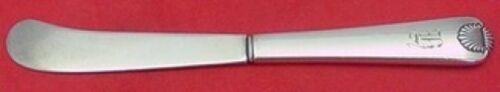 """Colonial Shell by International Sterling Silver Butter Spreader HH AS 6"""""""
