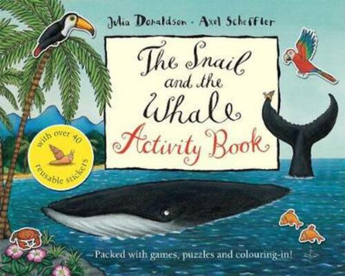 The Snail and the Whale Activity Book by Julia Donaldson Paperback Book Free Shi