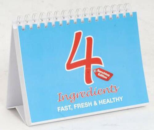 4 Ingredients: Fast, Fresh And Healthy: Benchtop Edition by McCosker Kim Paperba