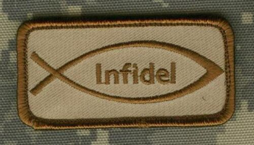 """TALIZOMBIE© WHACKER SP OPS COLLATION OPERATOR 2-TAB 2/"""" INFIDEL STRONG"""