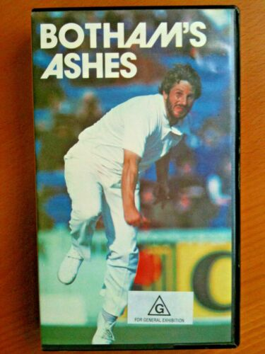 BOTHAM'S ASHES ~ MIRACLE OF HEADINGLEY 1981~ With RITCHIE BENAUD ~ VHS VIDEO