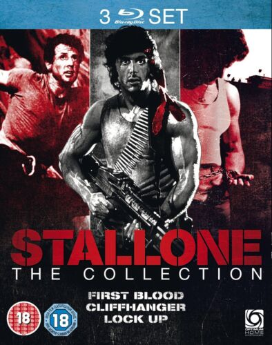 First Blood / Cliffhanger / Lock up: The Stallone Collection (Blu-ray)