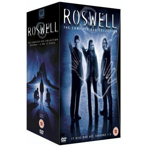 """ROSWELL COMPLETE SERIES 1-3 COLLECTION 17 DISC DVD BOX SET R4 """"NEW&SEALED"""""""