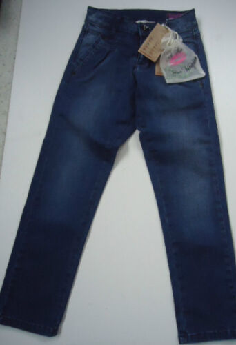 BNWT VINGINO SOAVE JNR GIRLS TAPERED CHINO GIRLS JEANS STYLED IN ITALY 7 YEARS