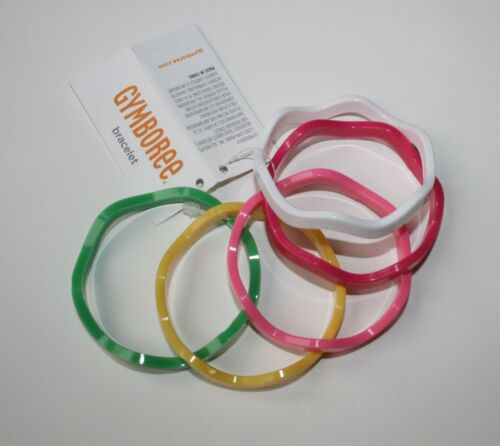 New Gymboree Multi-Color Wavy Bangle Bracelets One Size NWT