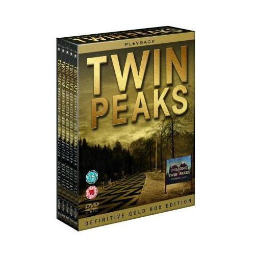 """TWIN PEAKS COMPLETE SERIES DEFINITIVE GOLD EDITION 10 DISC DVD BOX SET """"NEW"""""""
