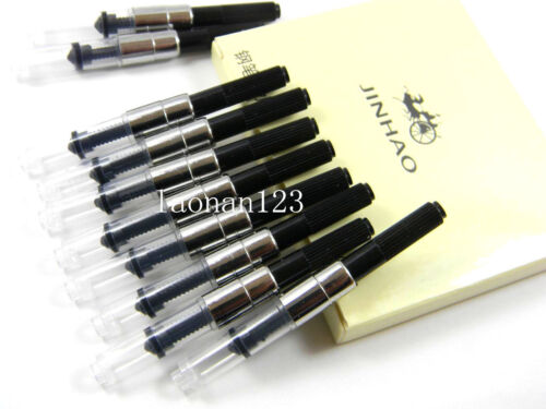 10pcs Jinhao Fountain Pen Ink Converters Ink
