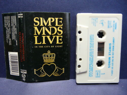 K7 SIMPLE MINDS Live in the city of light 124294