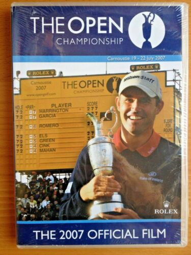 THE BRITISH OPEN CHAMPIONSHIP~CARNOUSTIE 2007~NEW & SEALED DVD~PAL REGION FREE
