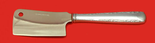 Camellia by Gorham Sterling Silver Cheese Cleaver HHWS  Custom Made 6 1/2""
