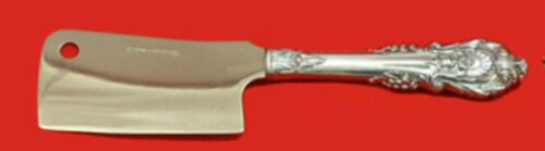 """Sir Christopher by Wallace Sterling Silver Cheese Cleaver HH Custom Made 6 1/2"""""""
