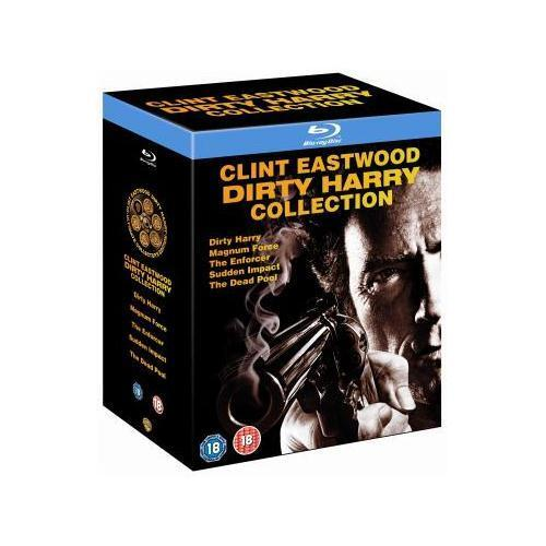 """DIRTY HARRY COMPLETE MOVIE COLLECTION CLINT EASTWOOD BLU RAY REG B """"NEW&SEALED"""""""