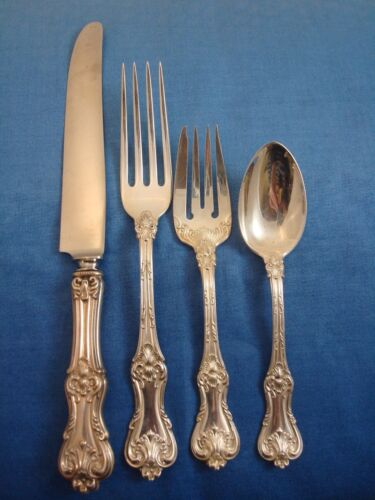 Federal Cotillion by Frank Smith Sterling Silver Regular Place Setting(s) 4pc